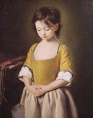 Pietro Antonio Rotari Portrait of a Young Girl, La Penitente