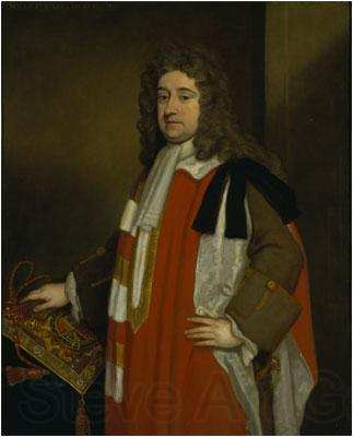 Sir Godfrey Kneller Portrait of William Legge