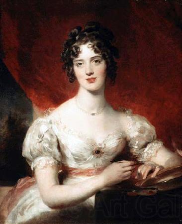 Sir Thomas Lawrence Portrait of Mary Anne Bloxam