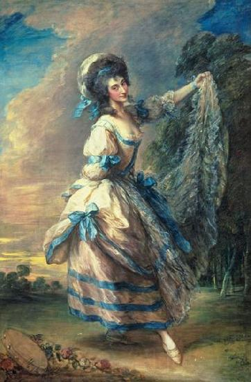 Thomas Gainsborough Portrait of Giovanna Baccelli