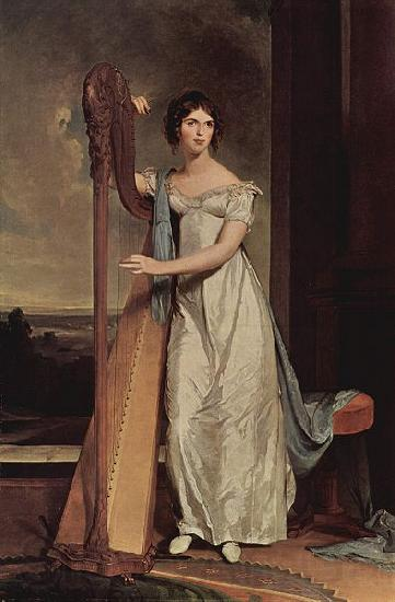 Thomas Sully Portrat der Eliza Ridgely