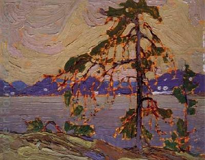 Tom Thomson Oil sketch for The Jack Pine