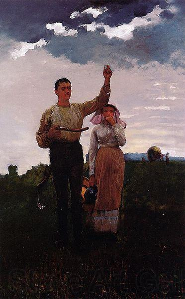 Winslow Homer Answering the Horn