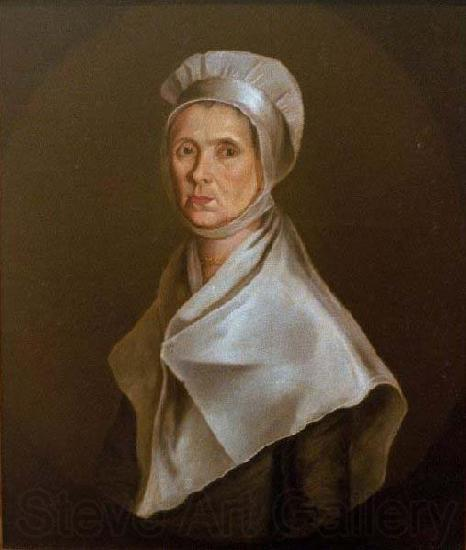 unknow artist Oil on canvas portrait of Mrs. Cooke by William Jennys