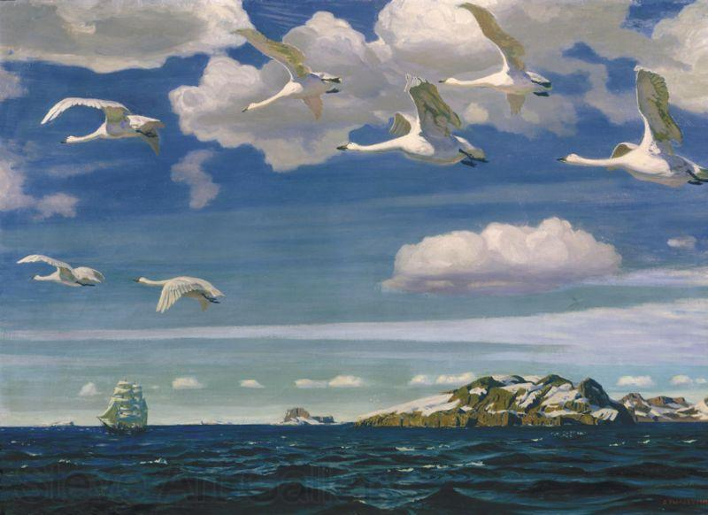 Arkady Alexandrovich Rylov In the Blue Expanse