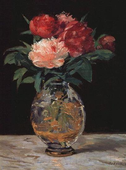 Edouard Manet Bouquet of Peonies