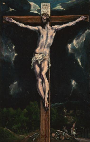 GRECO, El Christ on the Cross