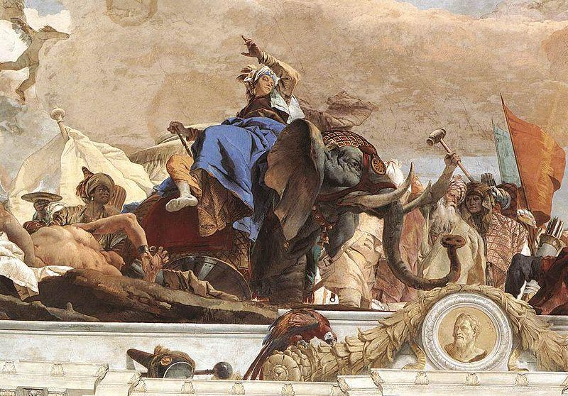 Giovanni Battista Tiepolo Apollo and the Continents