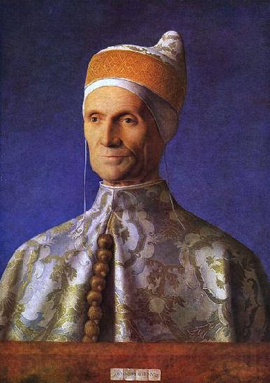 Giovanni Bellini The Doge Leonardo Loredan