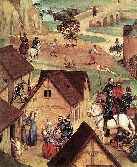 Hans Memling Advent and Triumph of Christ