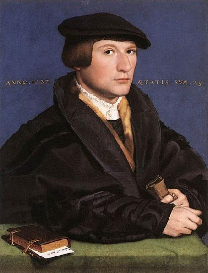 Hans holbein the younger Portrait of a Member of the Wedigh Family