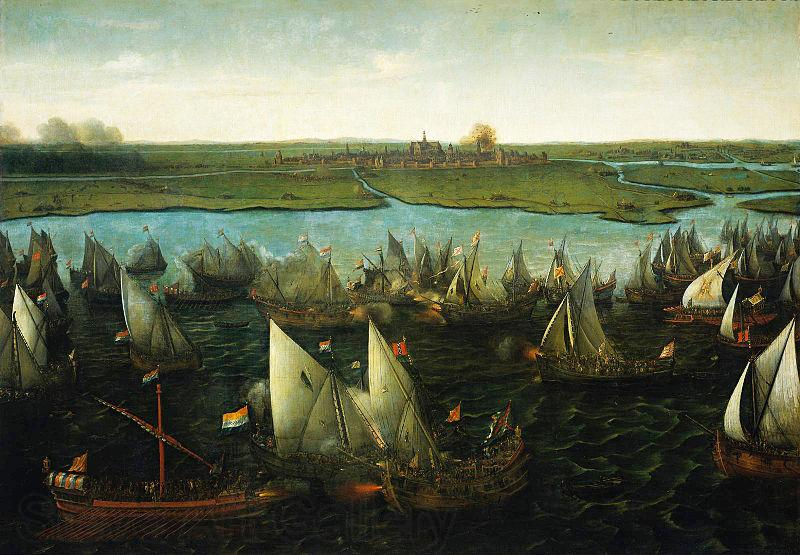 Hendrik Cornelisz. Vroom Battle of Haarlemmermeer, 26 May 1573