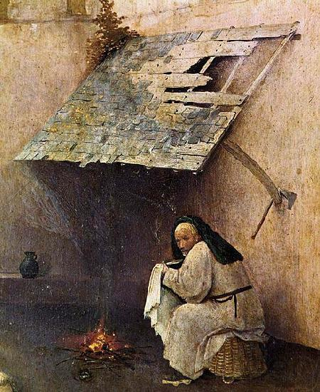 Hieronymus Bosch St Peter with the Donor