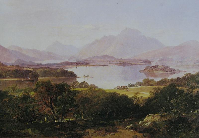 Horatio Mcculloch A View of Loch Lomond