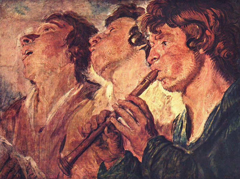 Jacob Jordaens Three Musicians