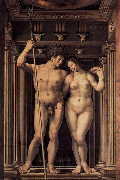 Jan Gossaert Mabuse Neptune and Amphitrite
