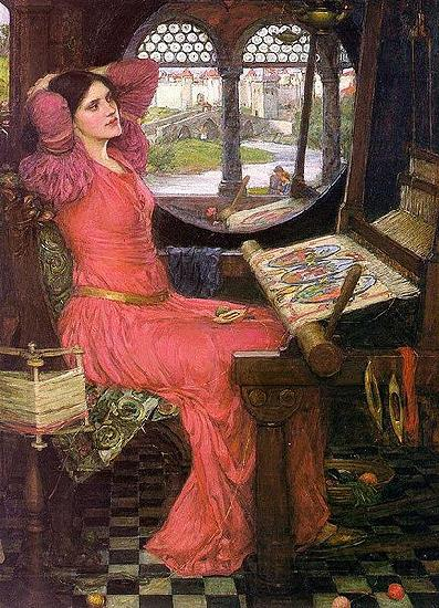 John William Waterhouse I am half-sick of shadows, said the Lady of Shalott