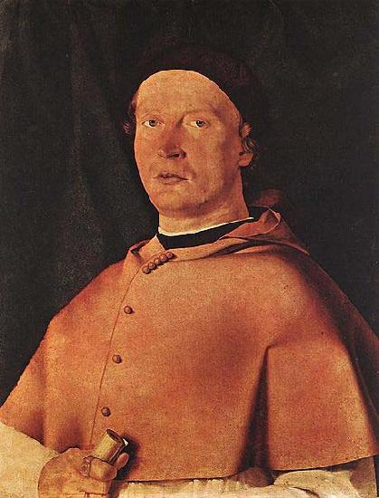 Lorenzo Lotto Bishop Bernardo de Rossi