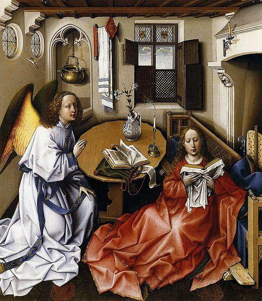 Master Of Flemalle Merode Altarpiece