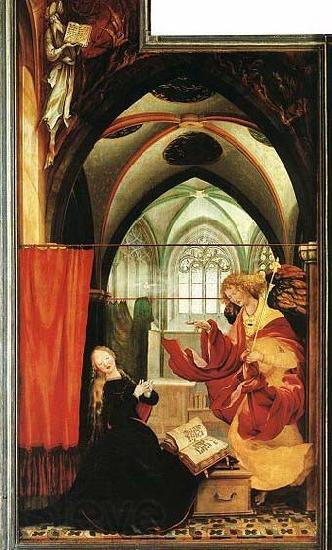 Matthias Grunewald The Annunciation