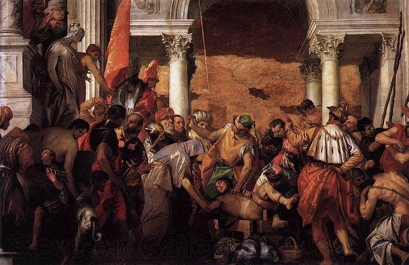 Paolo Veronese Martyrdom of Saint Lawrence