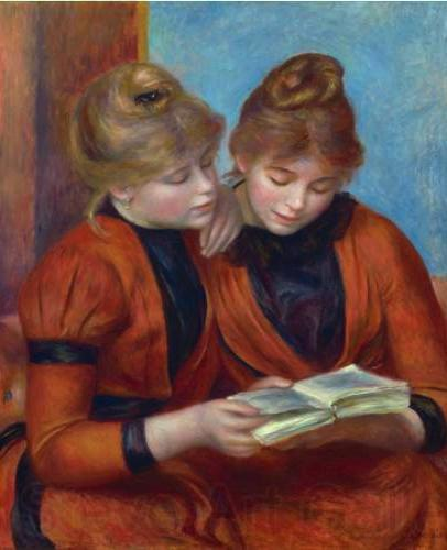 Pierre Auguste Renoir The Two Sisters