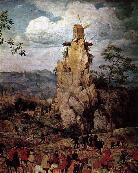 Pieter Bruegel the Elder Christ Carrying the Cross