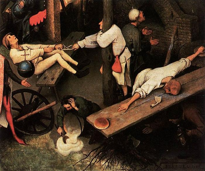 Pieter Bruegel the Elder Netherlandish Proverbs