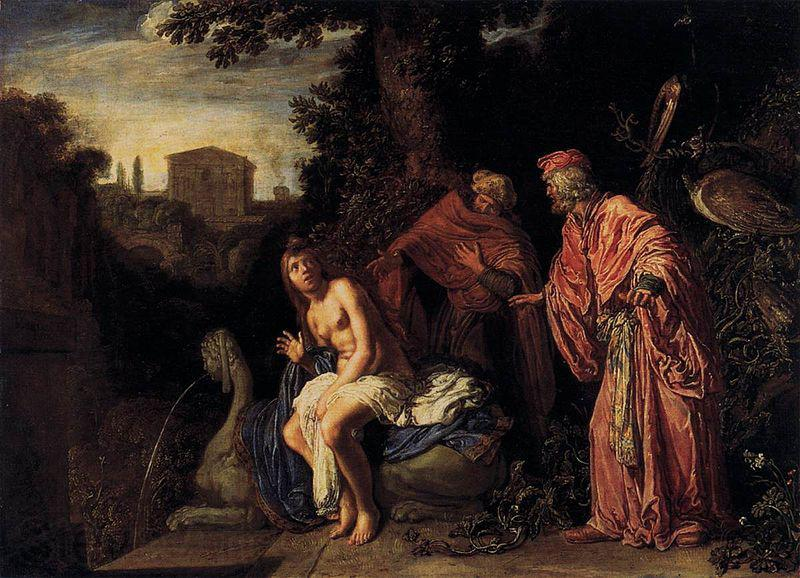 Pieter Lastman Susanna and the Elders