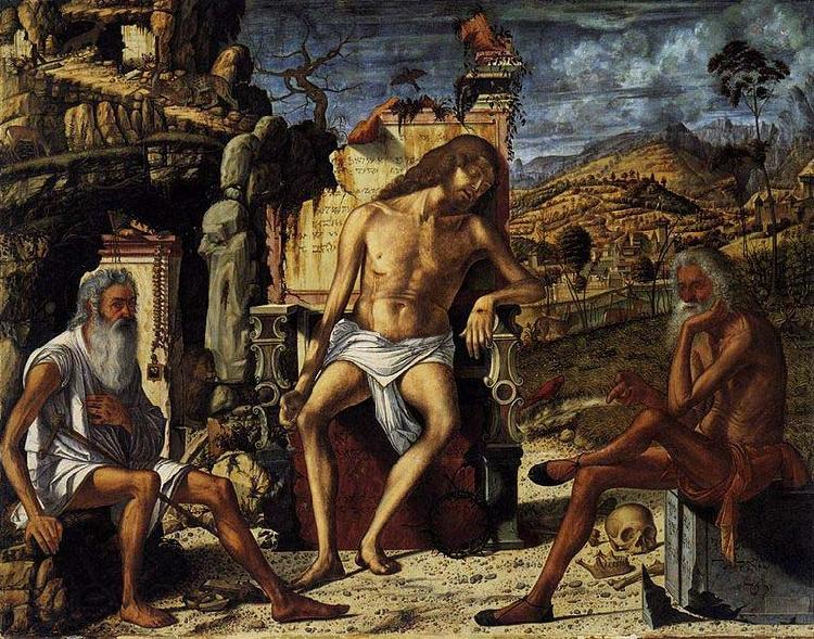 Vittore Carpaccio The Meditation on the Passion