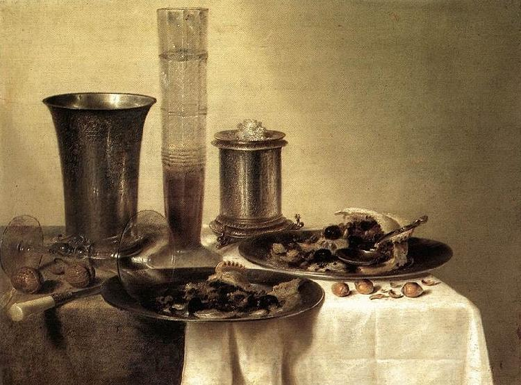 Willem Claesz Heda Breakfast Still Life