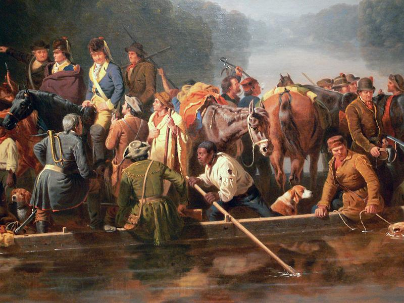 William Ranney Marion Crossing the Pee Dee