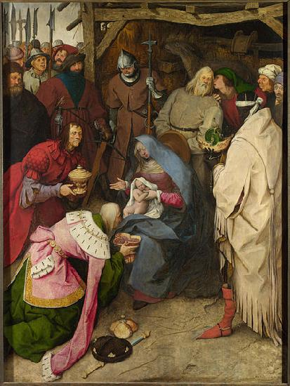 peter breughel the elder The Adoration of the Kings