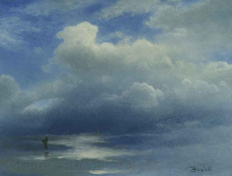 Albert Bierstadt Sea and Sky