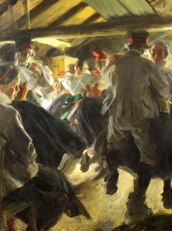 Anders Zorn Dance in the Gopsmorkate