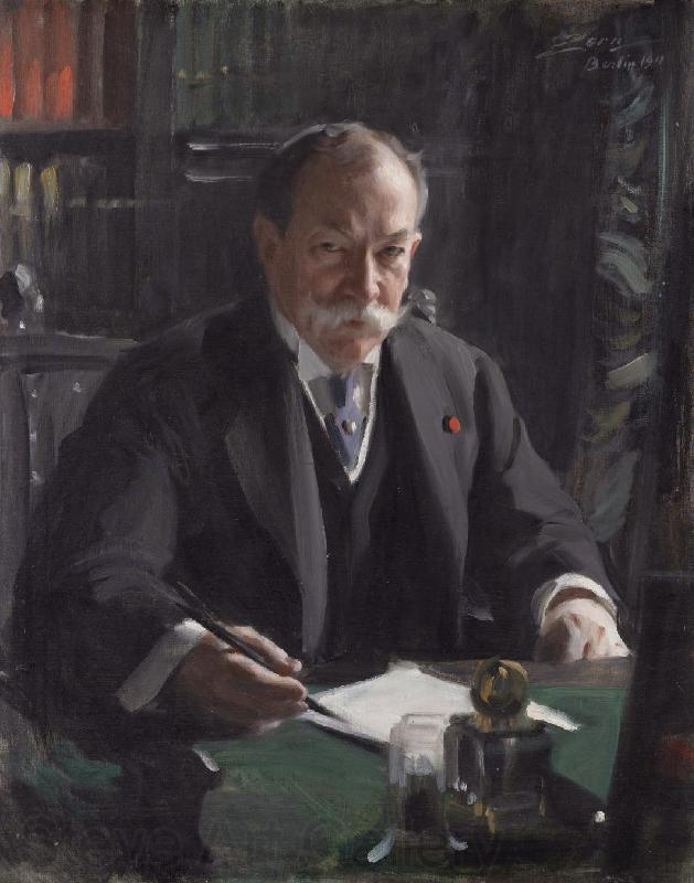 Anders Zorn Ambassador David Jayne Hill