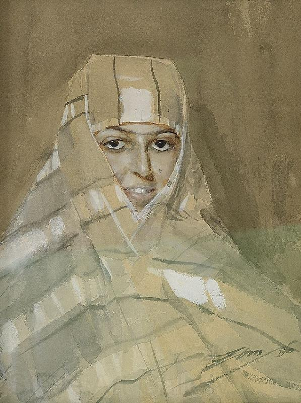 Anders Zorn Bedouin Girl