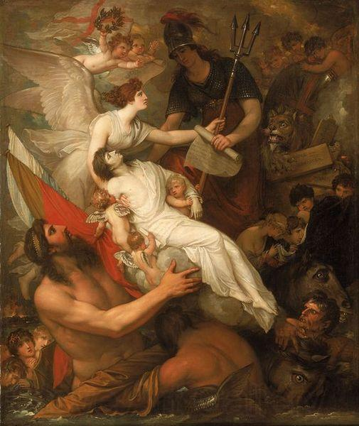 Benjamin West The Immortality of Nelson