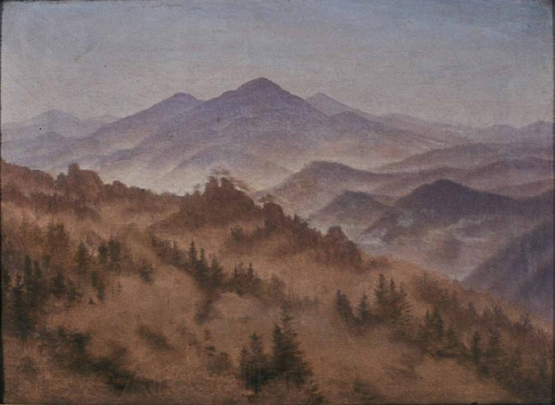 Caspar David Friedrich Riesengebirgslandschaf