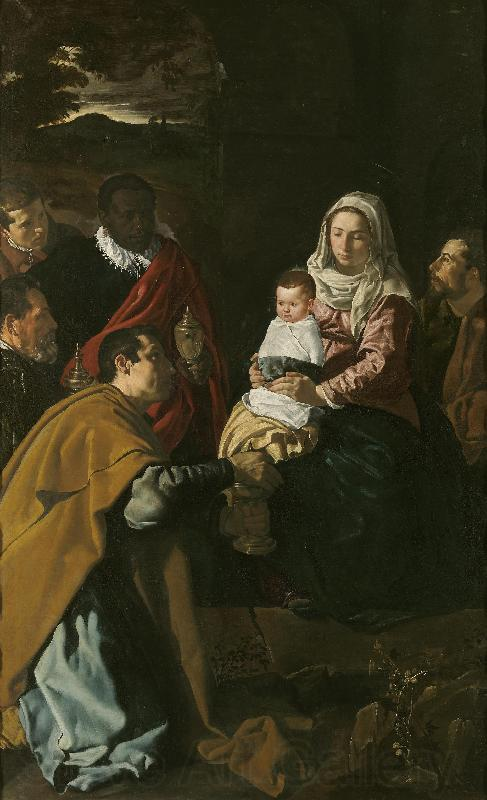 Diego Velazquez Adoration of the Magi