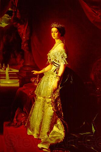 Franz Xaver Winterhalter Portrait of Empress Eugenie