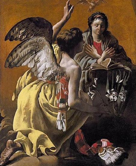 Hendrick ter Brugghen The Annunciation