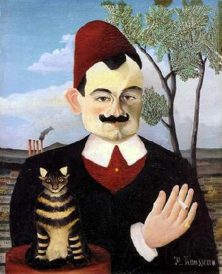 Henri Rousseau Portrait of Monsieur X (Pierre Loti)