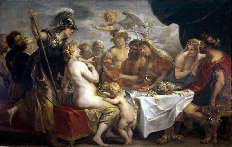 Jacob Jordaens Golden Apple of Discord