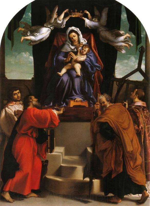 Lorenzo Lotto San Giacomo dell Orio Altarpiece