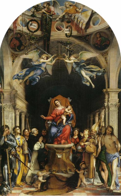 Lorenzo Lotto Martinengo Altarpiece
