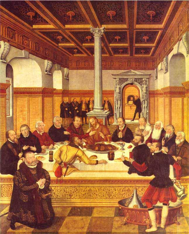 Lucas Cranach the Younger Last Supper