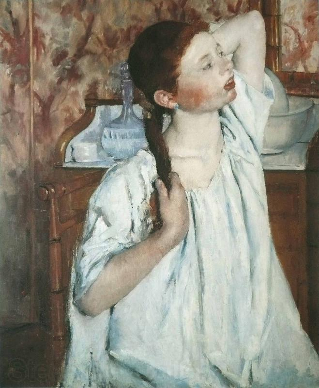 Mary Cassatt Girl Arranging Her Hair 1886