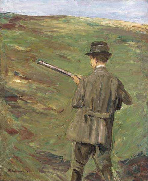 Max Liebermann Hunter in the dunes