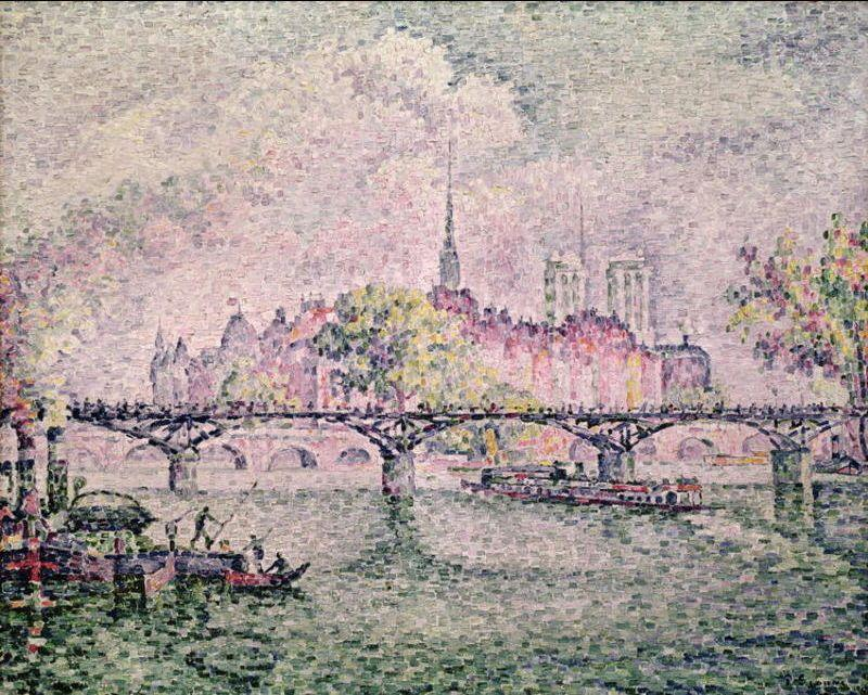 Paul Signac Ile de la Cite, Paris